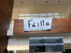 failte sign